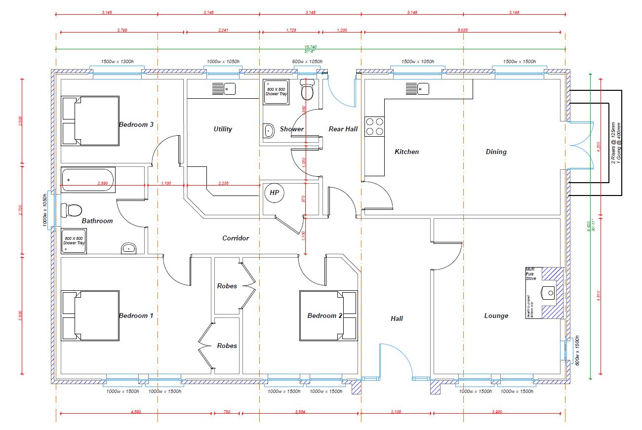 Floorplans and Sizes