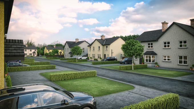 Work commence on new housing development western homes for New housing developments